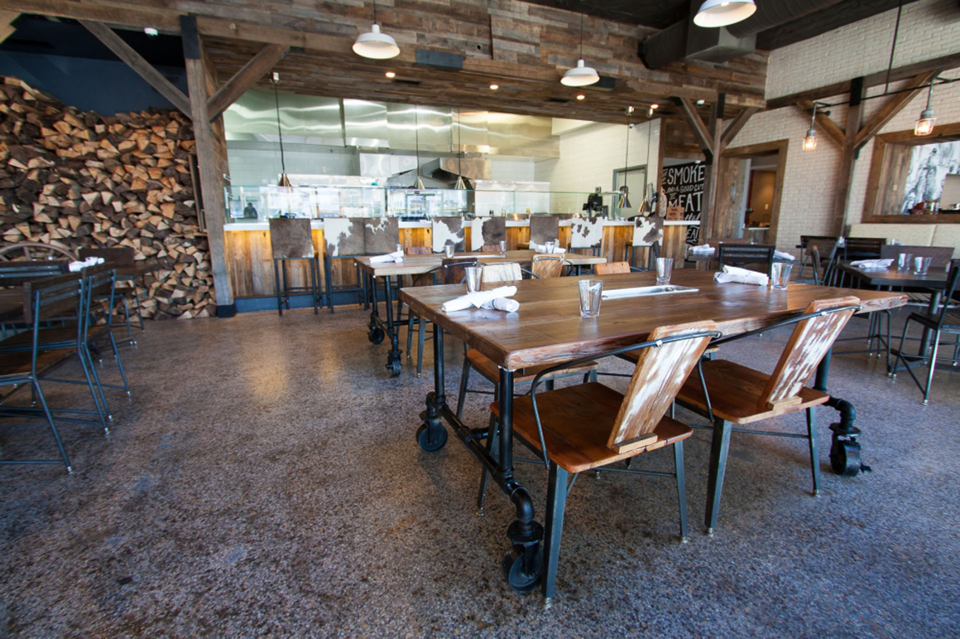 Texas jacks rustic restaurant furniture