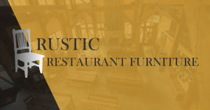 Rustic Restaurant Furniture Social Media Cover
