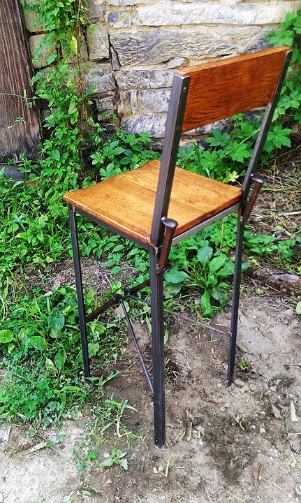 Urban Style Reclaimed Wood Bar Stools with Industrial  : il570xN649048135y8yt926591417900345720720jpgc 2 from rusticrestaurantfurniture.com size 431 x 720 jpeg 166kB
