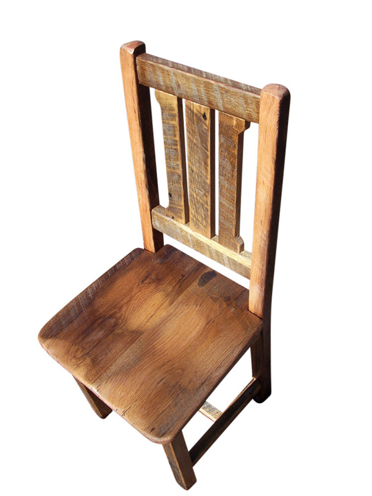 Reclaimed Antique Oak Rustic Mission Dining Chair  sc 1 st  Rustic Restaurant Furniture & Reclaimed Antique Oak Rustic Mission Dining Chair | Rustic ...