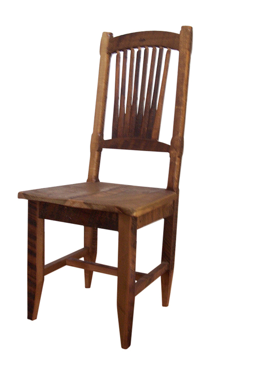 Reclaimed Antique Barn Wood Rustic Spindle Back Chair - Reclaimed Antique Barn Wood Rustic Spindle Back Chair Rustic