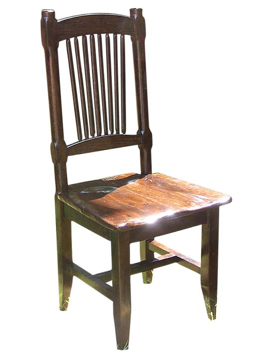 Reclaimed Antique Oak Rustic Spindle Back Chair - Reclaimed Antique Oak Rustic Spindle Back Chair Rustic Restaurant