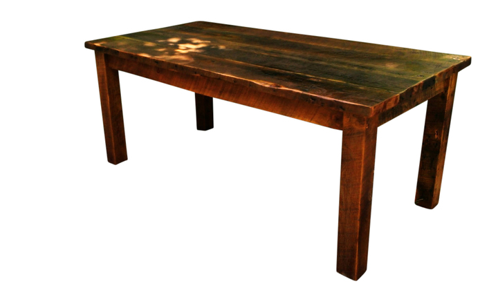 Primitive Farmhouse Table from Antique Reclaimed Wood   Rustic Restaurant  Furniture. Primitive Farmhouse Table from Antique Reclaimed Wood   Rustic