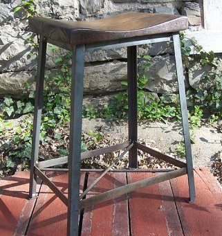 industrial restaurant furniture. Industrial Chic Reclaimed Wood Saddle Stools Industrial Restaurant Furniture U