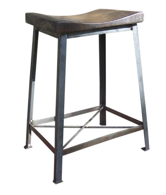 Industrial Chic Reclaimed Wood Saddle Stools | Rustic Restaurant Furniture  sc 1 st  Rustic Restaurant Furniture & Industrial Chic Reclaimed Wood Saddle Stools | Rustic Restaurant ... islam-shia.org